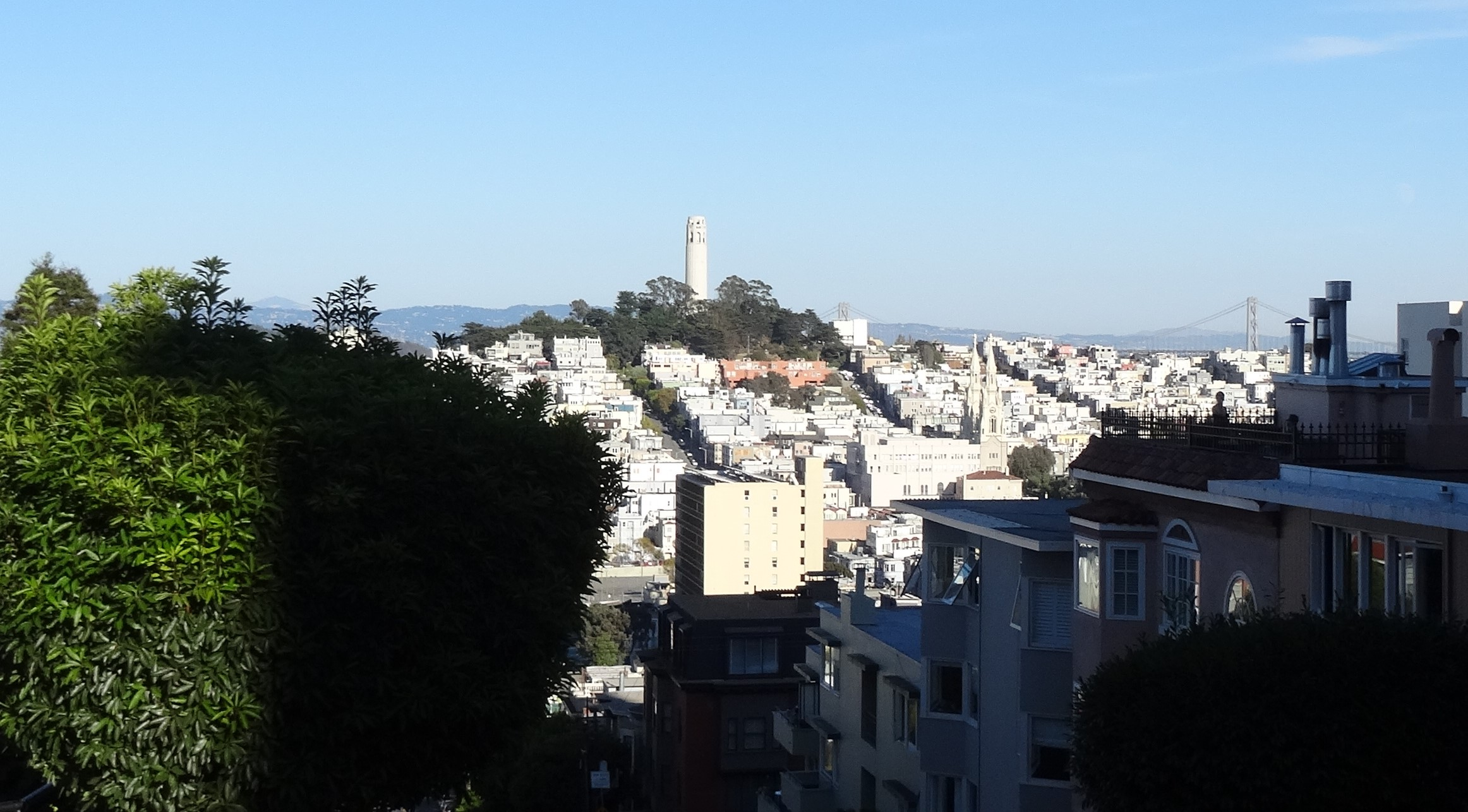 Telegraph Hill, Coit Tower, SF