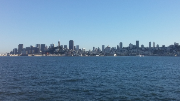 View of SF Skyline from Sailboat