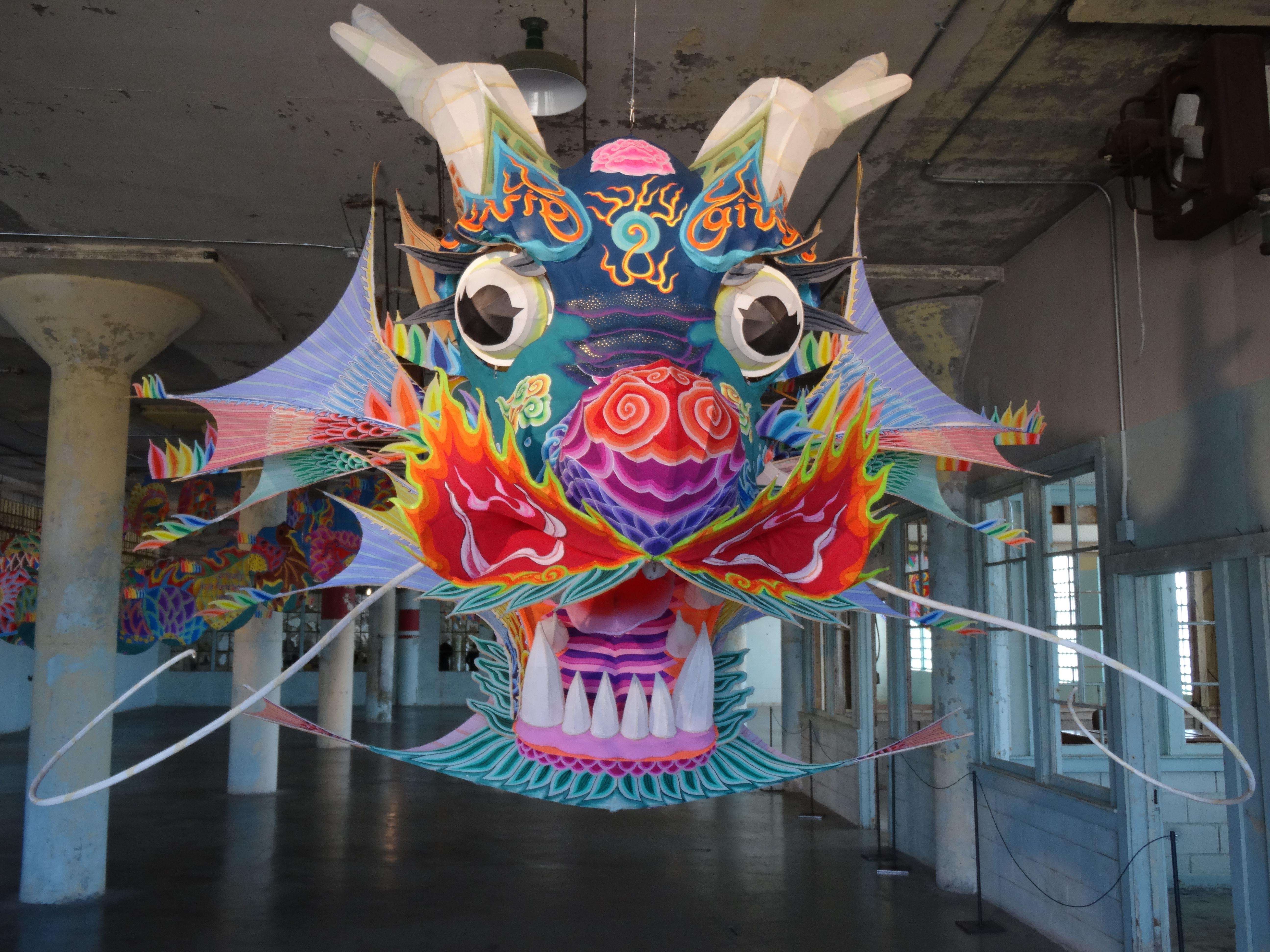 Weiwei @Large in Alcatraz