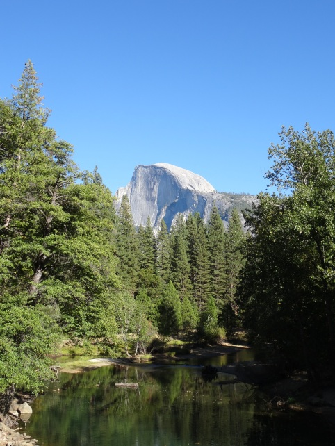 06.5 Merced River and Half Dome, Yosemite