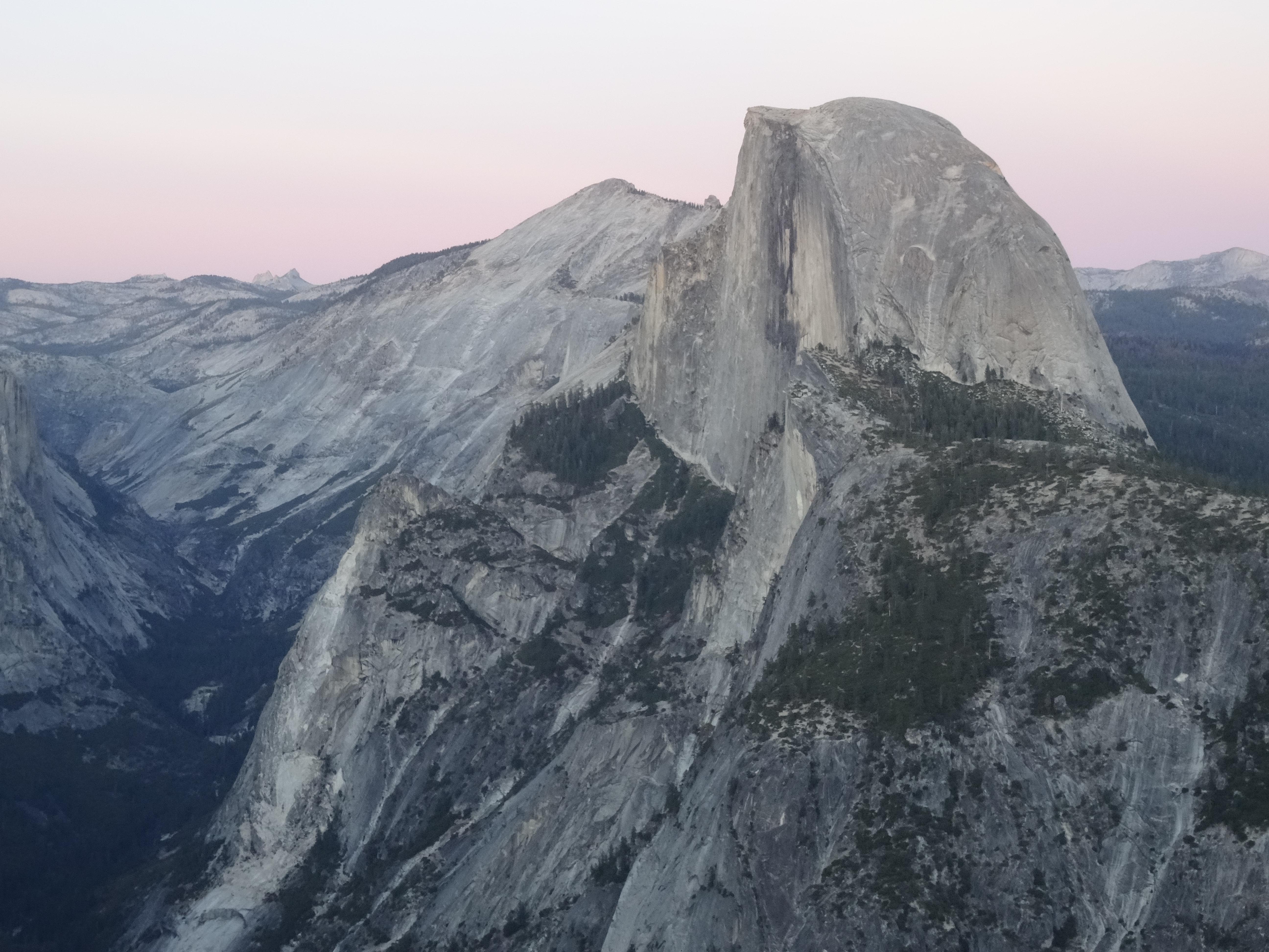 14 Half Dome from Glacier Point, Yosemite