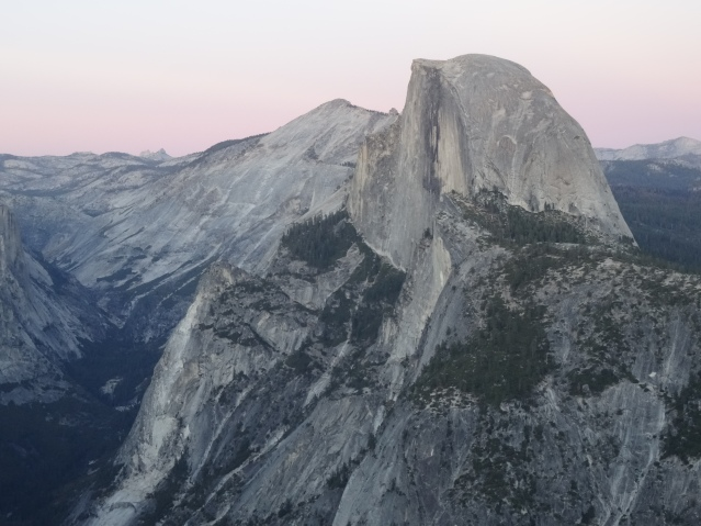 14 Half Dome from Glacier Point, Yosemite