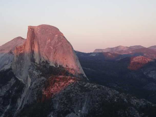18 Half Dome from Glacier Point at Sunset