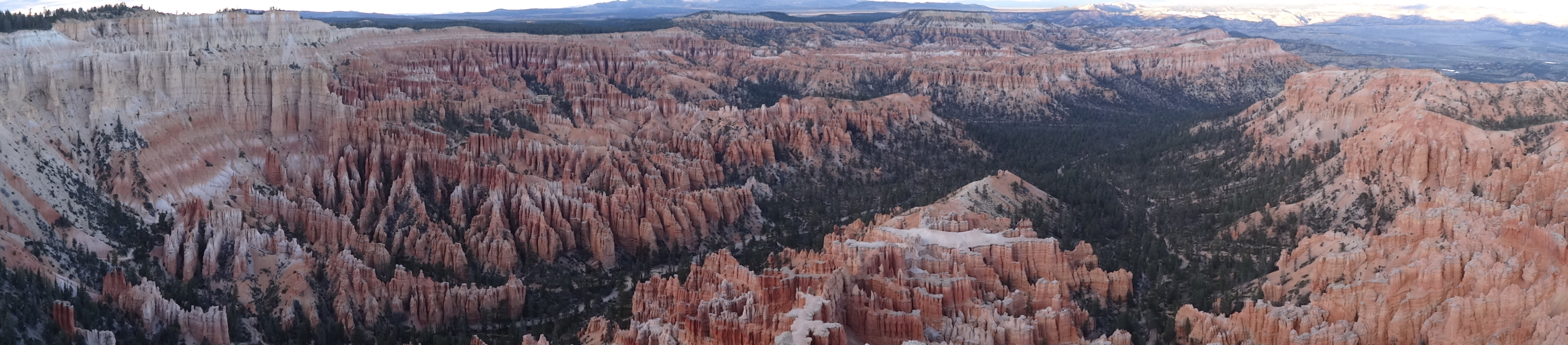 Bryce Canyon from Inpsiration Point 1