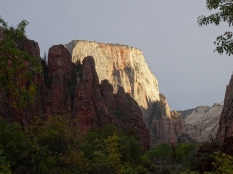The White Throne, Zion NP