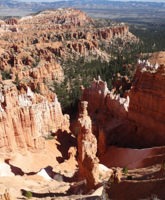 Thor's Hammer from Rim Trail, Bryce Canyon NP