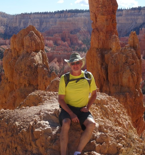 Trey on Queen's Garden Trail, Bryce Canyon NP