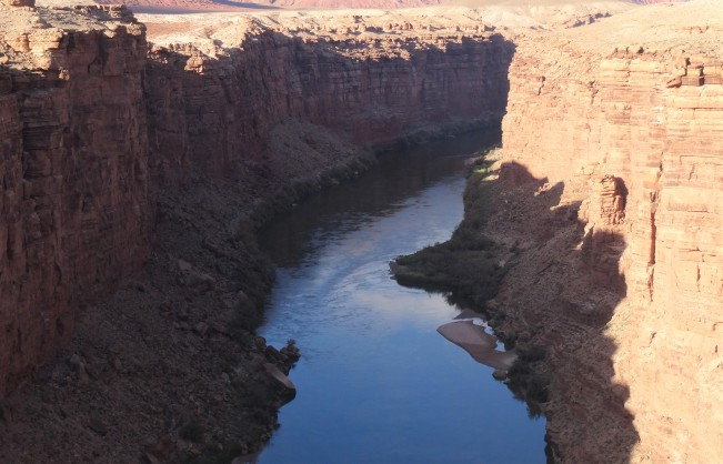 32 Colorado River from Navajo Bridge