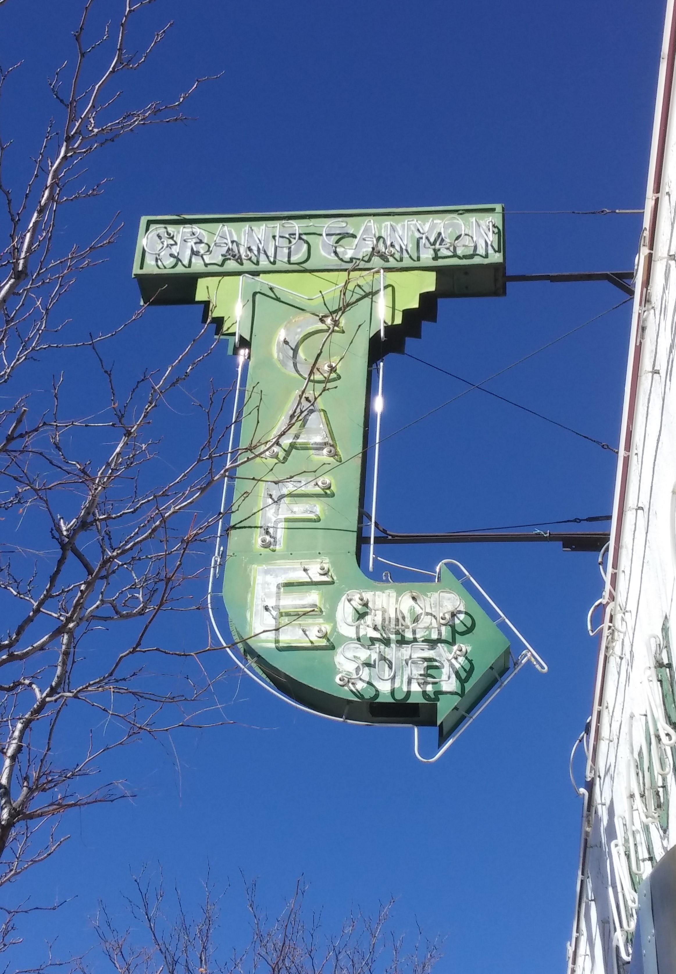 Grand Canyon Cafe, Flagstaff AZ