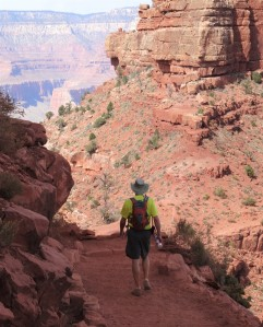Heading down Kiabab Trail - Grand Canyon SR