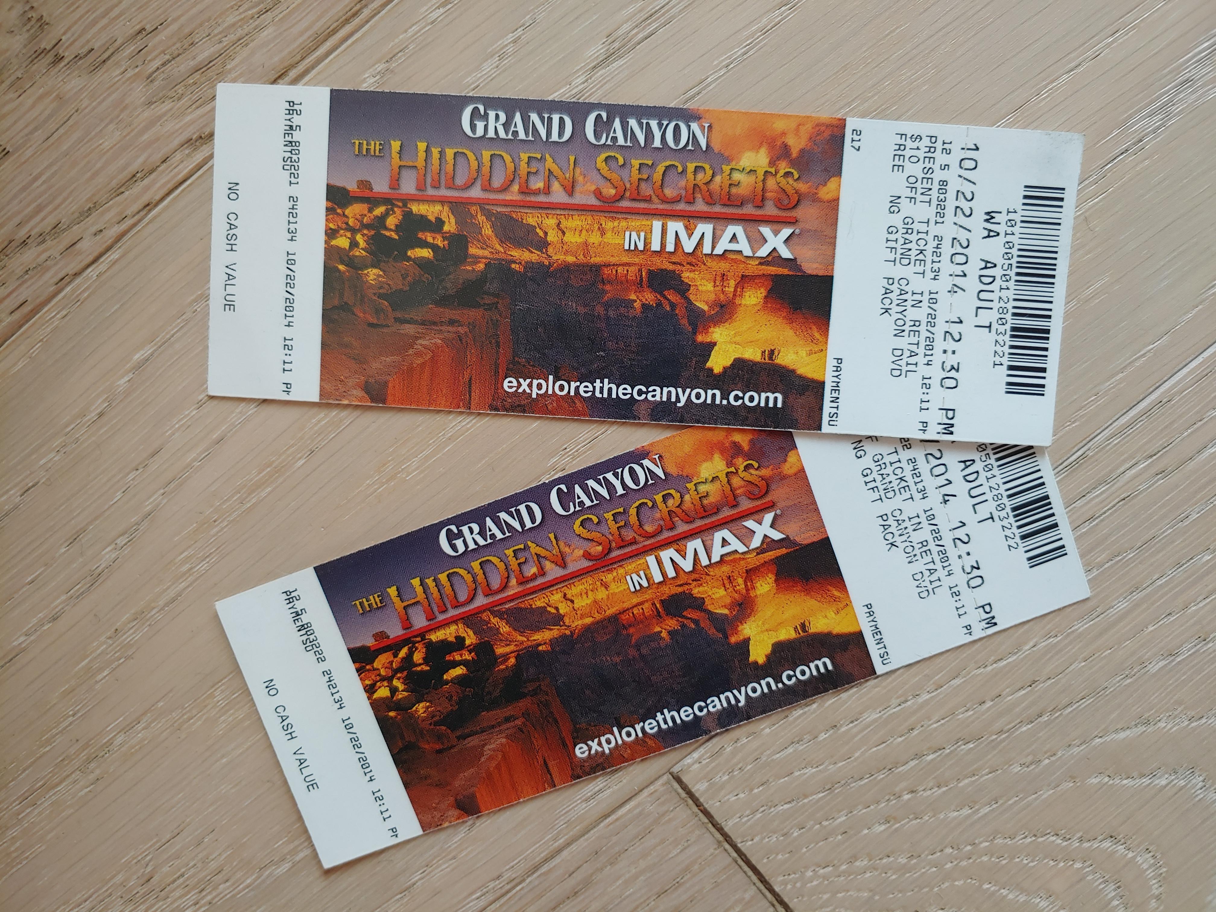 IMAX Tixs