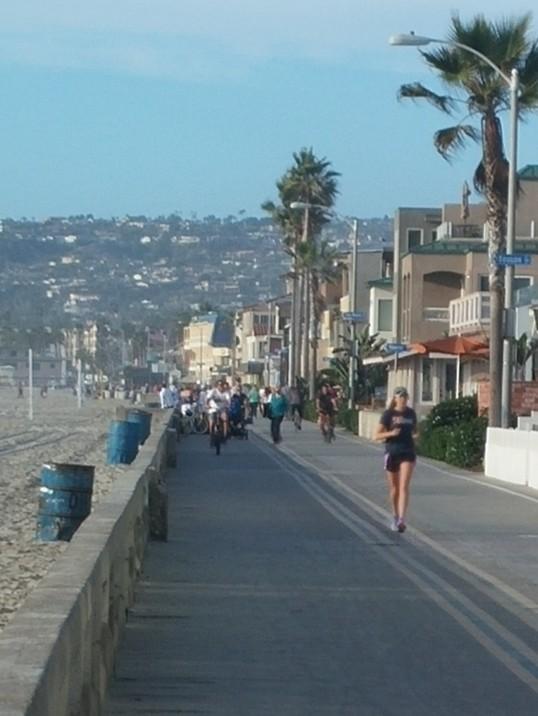 Ocean Front Walk, Mission Bay, SD