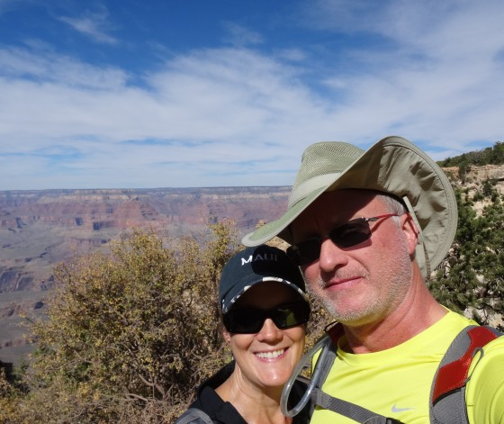 South Rim Selfie, Grand Canyon