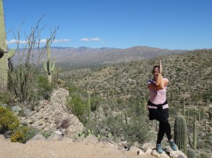 Communing with the Saguaros, Saguaro Natl Park E