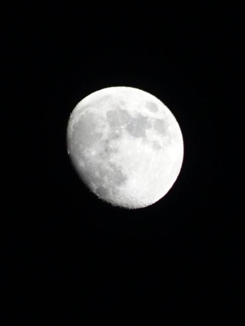Moon, Nov 3 2014 from Kitt Peak