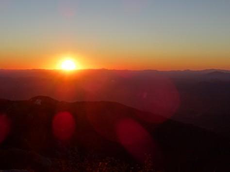 Sunset from Kitt Peak