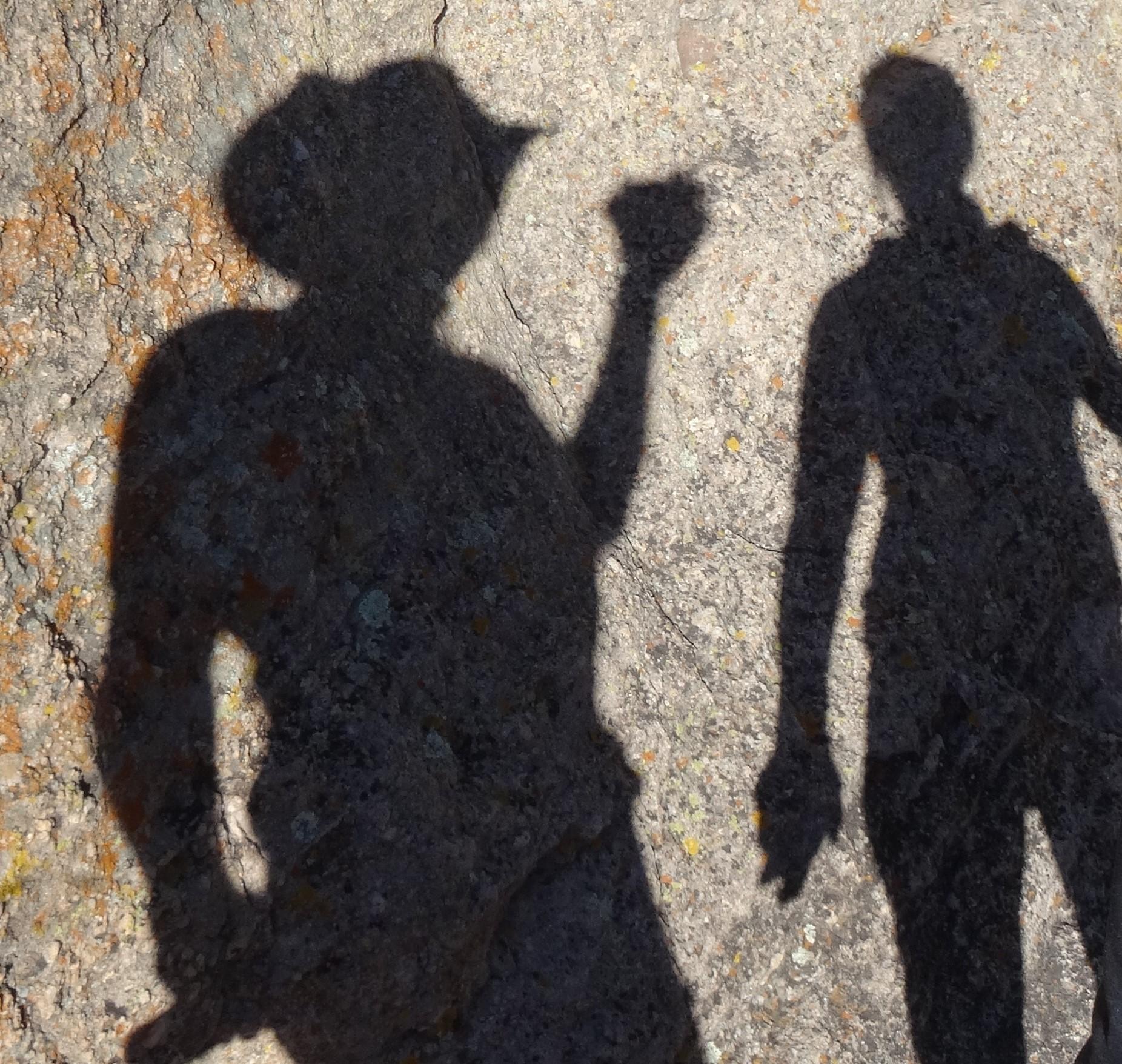 Casting Shadows, Gila Natl Monument, NM