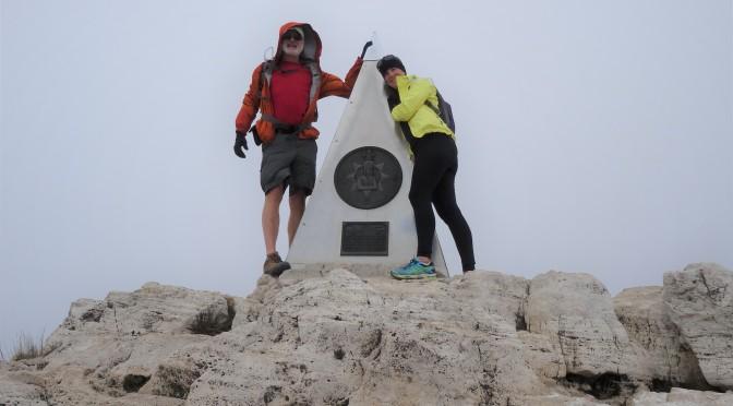 Guadalupe Peak Trail (Top of Texas) ~ November 13 – 14, 2014